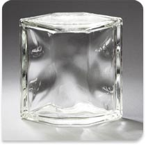 "Pittsburgh Corning Glass Block Hedron Decora, 6"" Corner"