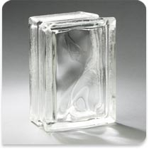 "Pittsburgh Corning Glass Block Arque Decora 6""x8""x4"""