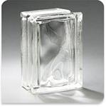 "Pittsburgh Corning Glass Block Arque Decora 6""x8""x4"""