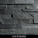ErthCoverings 3D Springwood Black 18F Stone