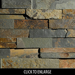 ErthCoverings 3D Outback Brown 24F Stone