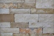 Rock-It Natural Stone Thin Veneer Corner, Sawn Top & Bottom, Lueders Blend