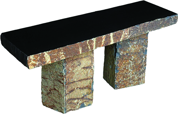 Granite Basalt Bench