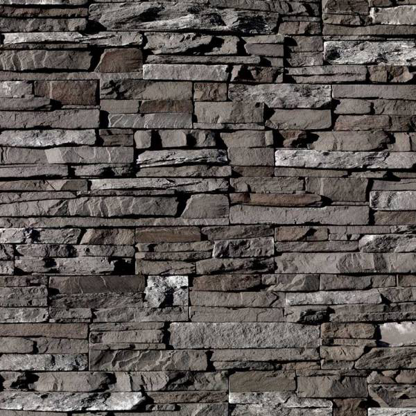 I-XL Masonry Stacked Stone Dark Rundle