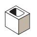Expocrete Half Concrete Block 15 cm / 150 mm