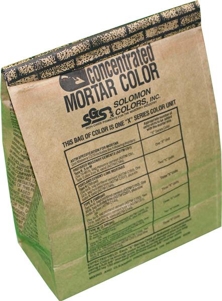 Solomon Colors Brickform Mortar Color, 4Lb, 10H Light Buff