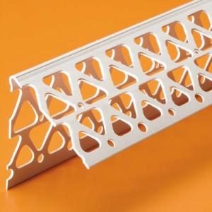 """PVC Corner Bead #4, 2.5""""x2.5""""x10'"""