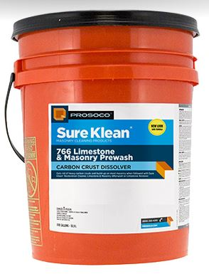 Sure Klean 766 Limestone and Masonry Prewash 5 Gallon