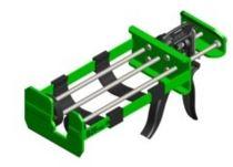 Albion Multi-Component Cartridge Gun B26T900