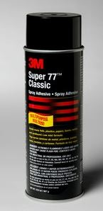 3M Super 77 Classic Spray Adhesive 24 Oz