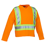 Latoplast Long Sleeve Safety Shirt Orange Or Lime