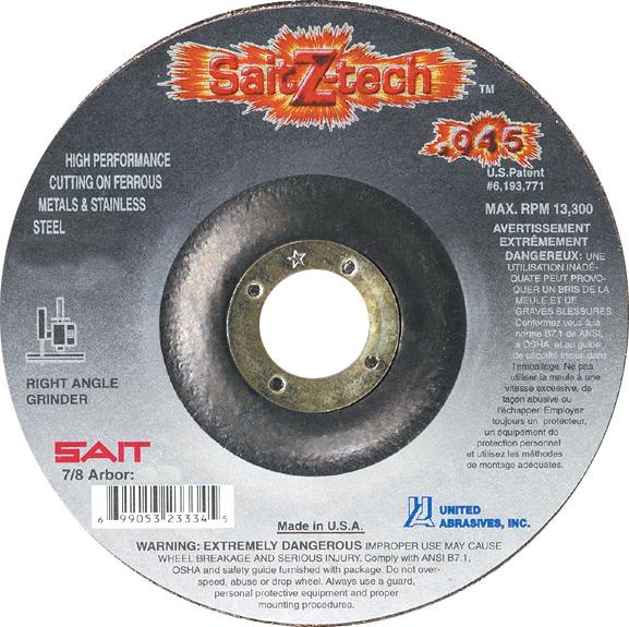 SAIT Z-Tech Blade, Zip Cut, 6x.045x7/8