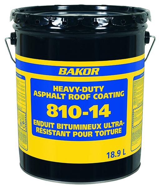 Henry Bakor 810 Asphalt Roof Coating 18L