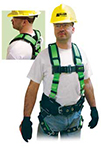 Safety Harness w/Belt, Green/Black, 23-102