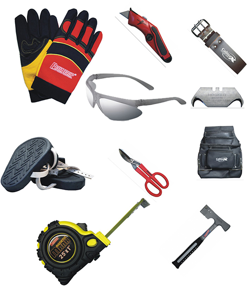 10  Piece Roofer's Kit