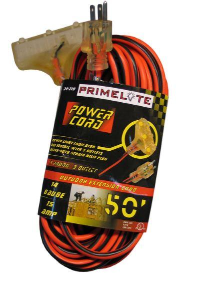 50 inch Medium Duty Extension Cord