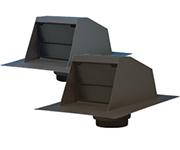 Canplas Range Hood Exhaust Vent, Black