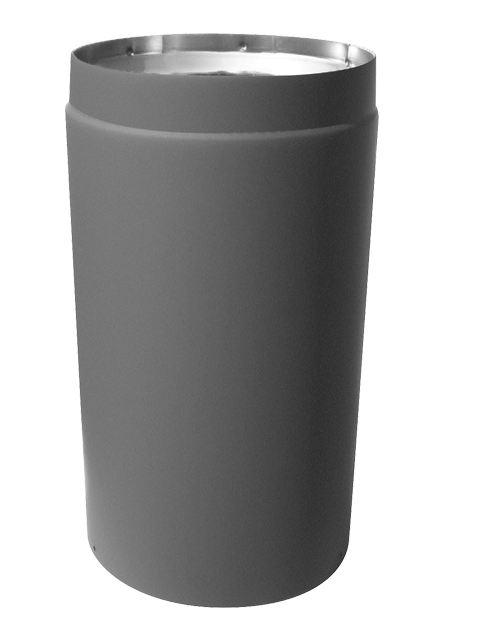 Ultra Black  Adjustable Stove Pipe