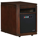 Duraflame Dartmouth Quartz Heater, Walnut