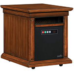 Duraflame Livingston Quartz Heater, Walnut