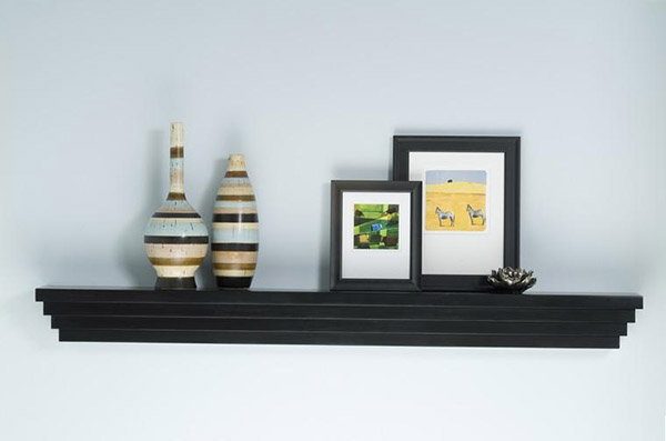 "Mantelcraft Modern Mantel Shelf, 60"", Oak"