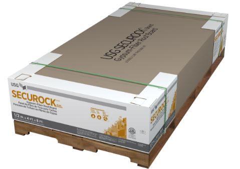 Securock Gypsum-Fiber Roof Board