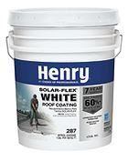 Henry Bakor Solar-Flex White Roof Coating 5 Gal/ 18.9 Liters