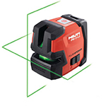 Hilti PM 2-LG Green Line Laser w/PMA 82 Bracket