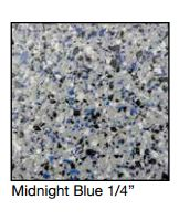 "Laticrete-Midnight Blue 1/4"" Chip"