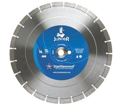 Star Diamond Segmented Blade