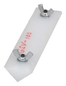 """Wind-Lock V Groove Sled GSV-100 1""""x0.5"""""""