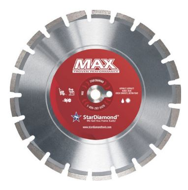 Star Diamond Max Asphalt and Green Concrete Blade