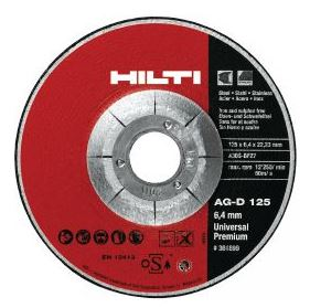 Hilti Grinding Disc Type UP