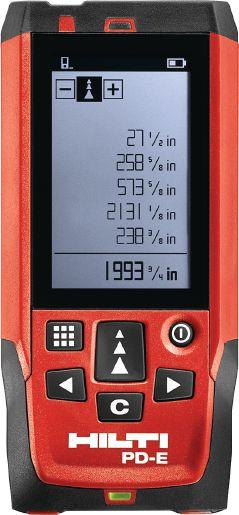 Hilti PD E Laser Range Meter