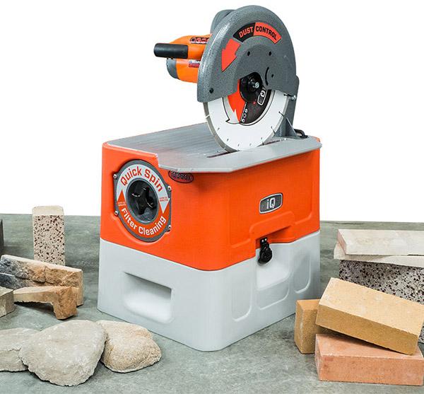"IQ Power Tools IQ360X Masonry Saw w/Built-In Vacuum System, 14"""