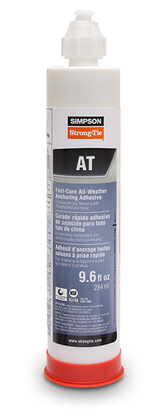 Simpson Strong-Tie AT-XP 10 Anchor Adhesive, 10oz