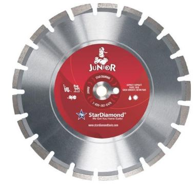 Star Diamond Junior Asphalt and Green Concrete Blade