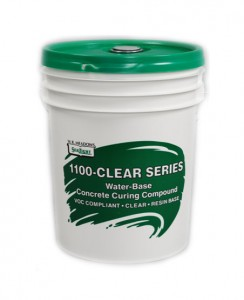 W R Meadows 1100 Clear Cure Compound, Water Base, 205L