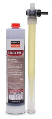 Simpson Strong Tie Crack Pac Epoxy