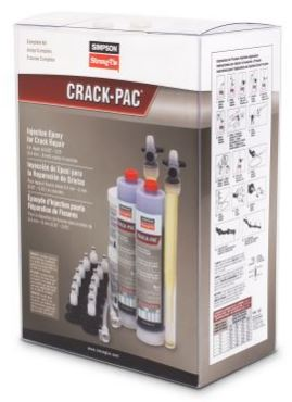 Simpson Strong Tie Crack Pac Epoxy Kit
