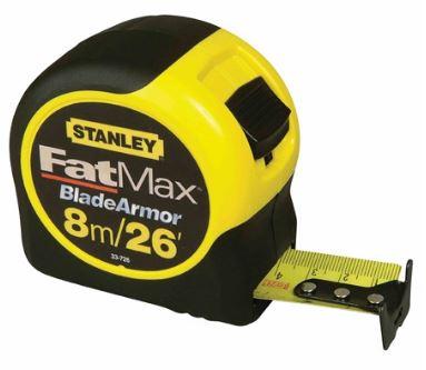 Stanley FatMax Tape 26 Feet