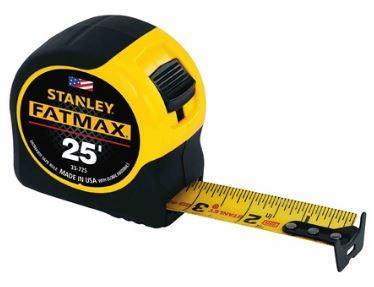 Stanley FatMax Tape 25 Feet