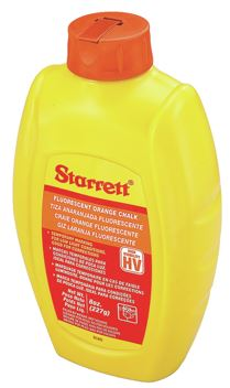 Starrett Chalk Orange 8 Ounces
