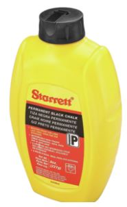 Starrett Chalk Black 8 Ounces