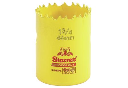 """Starrett Bi-Metal Hole Saw, 1-3/4"""", 55097"""
