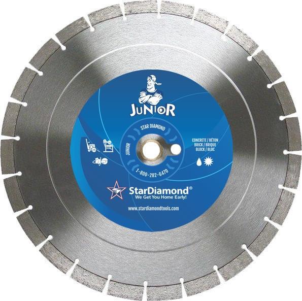 """Star Diamond Blade, Junior Turbo, 5"""", 11005"""