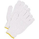 Pair of white Bob Dale String Knit Gloves