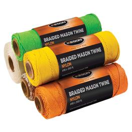 Keson Mason Line 250' Reel All Colours