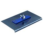 Kraft Tool Blue Steel Walking Edger w/o Handle, 9x10, 3/4R , CC400-01