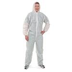 Coverall Disposable XL DC Coated